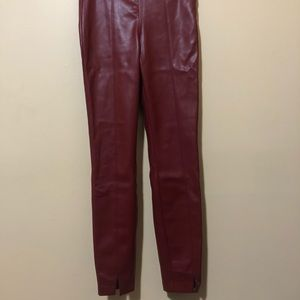 Zara Trafaluc Vegan Leather Pants